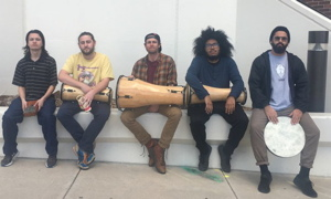 Photograph of Batamba Collective in 2017.