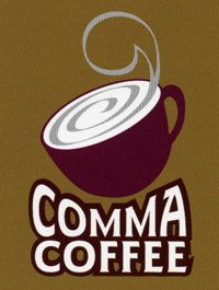 Comma Coffee logo