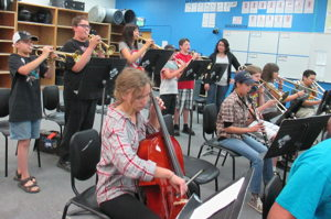 Photograph of last year's Jazz Camp