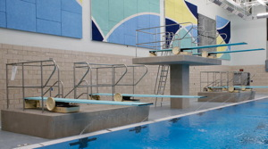 Picture of diving boards